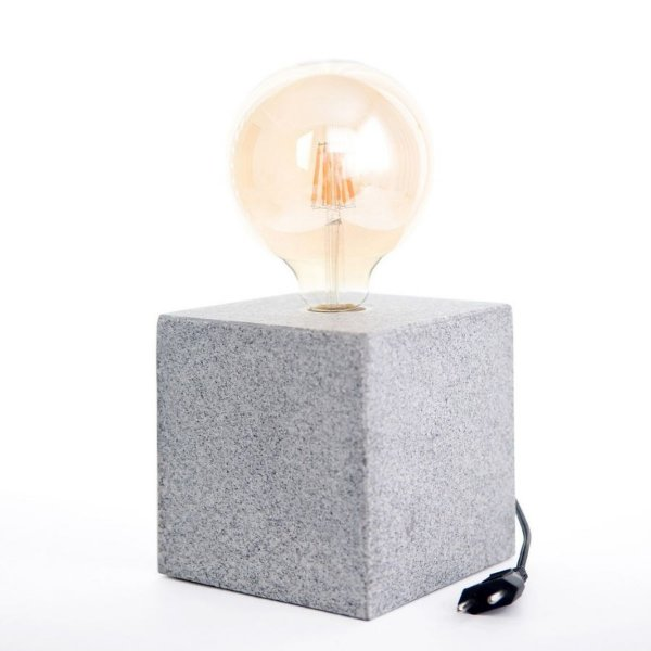 Luminária Cube Cinza G