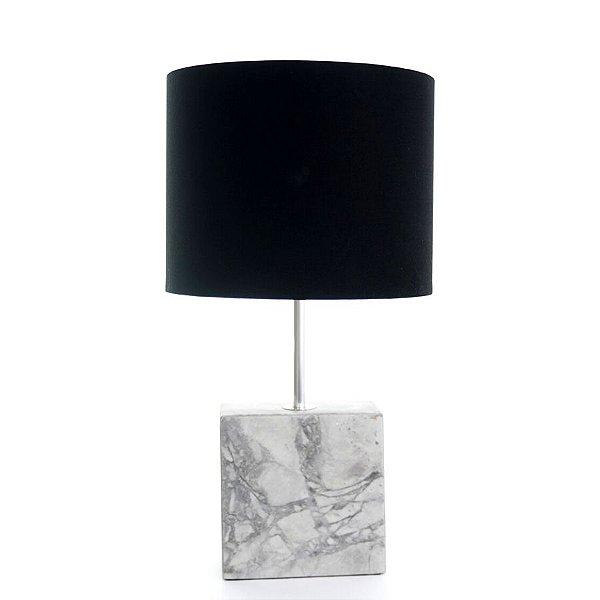Luminária de Mesa Dome granito Arabescato