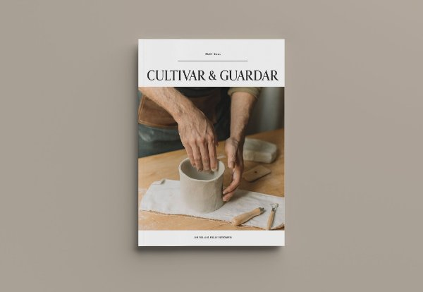 """VOL. 02 - """"Deus"""" - CULTIVAR & GUARDAR - Revista com 132 páginas"""