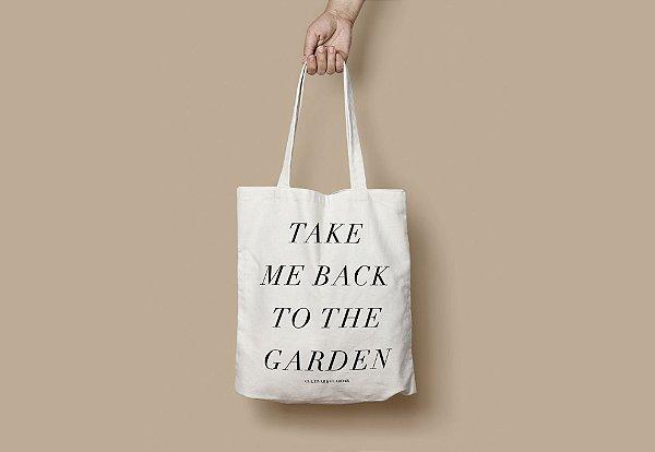 ECOBAG: Take Me Back To The Garden 30x40cm