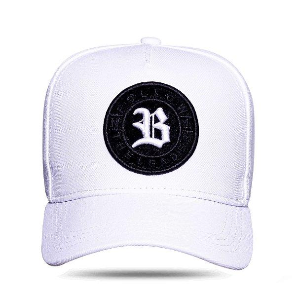 Boné Snapback Follow Logo Camu White