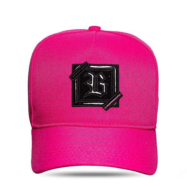 Boné Snapback ZigZag Pink Fluor