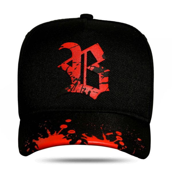 Boné Snapback New Aba Resping Red Black