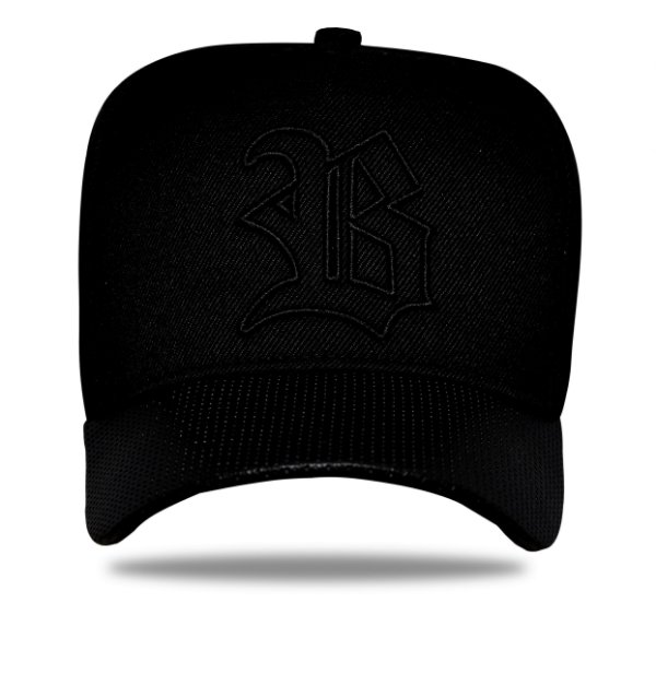 Boné Snapback Perfored All Black