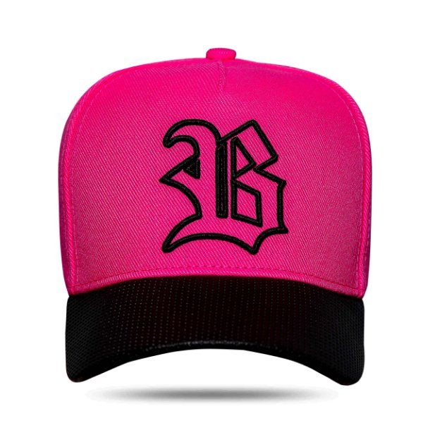 Boné Snapback Aba Perfored Pink