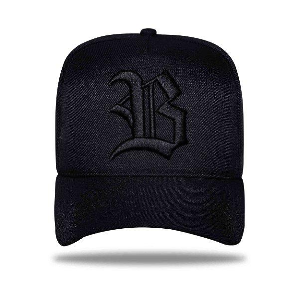 Boné Snapback New all Black