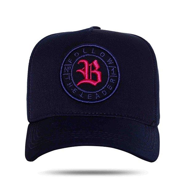 Boné Strapback Follow Logo Blue