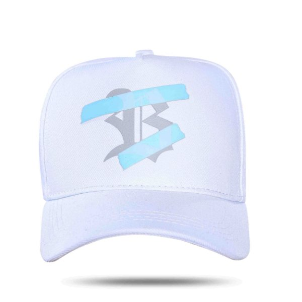 Boné Snapback Transparency White
