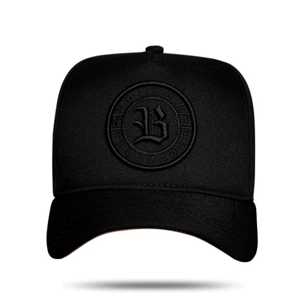 Boné Snapback Follow The Leader All Black