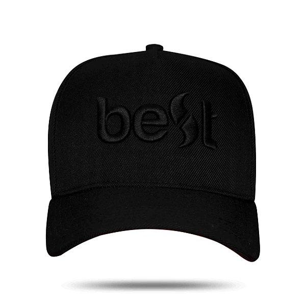 Boné Snapback Best Black to Red