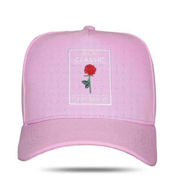 Boné Snapback Rose Classic Pink