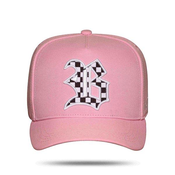 Boné Snapback Race Edition Pink