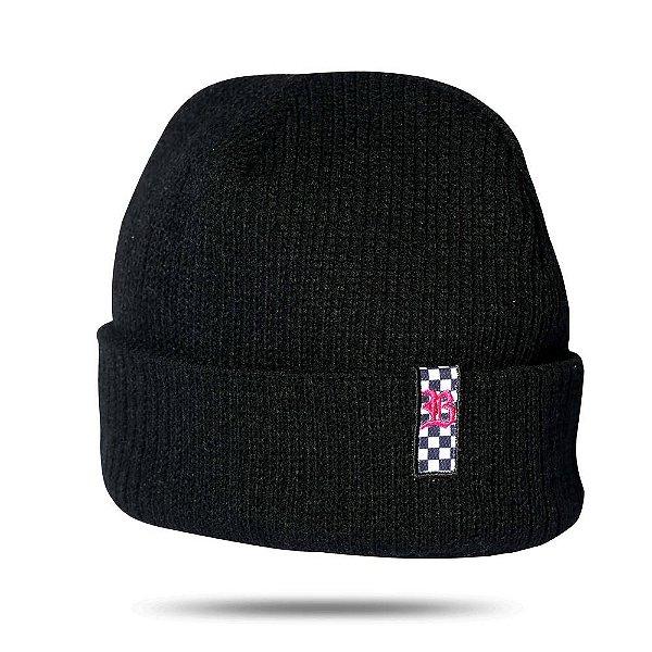 Touca Grid Logo Pink