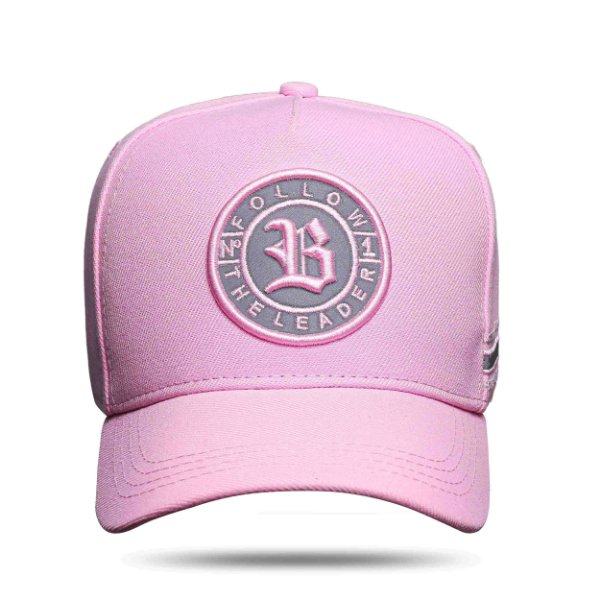 Boné Snapback Follow Perfect Pink Clear