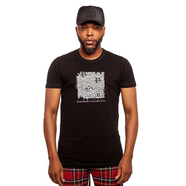 Camiseta Blck Wave Bear Black