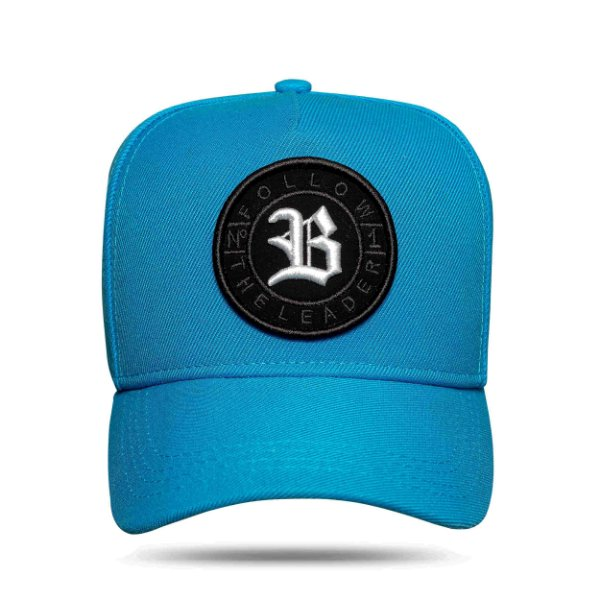 Boné Snapback Follow All Blue Logo White