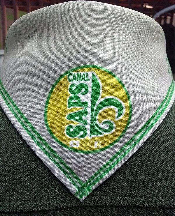 Kit Lenço Canal SAPS + Botons + Distintivos - casa confecções ... 377417aef11