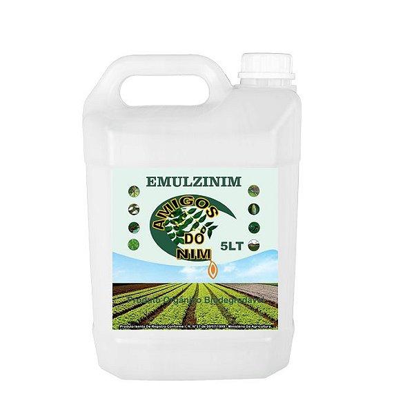 Óleo de Neem para Lagartas Pulgoes Cochonilha Emulsionado Galão 5 litros - Frete Grátis Para Todo Brasil