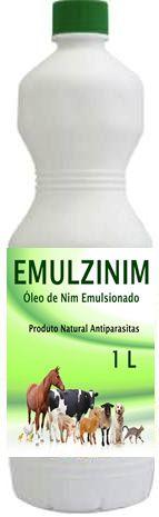 Oleo de Nim - Neem - Emulzinim - Uso Pet - Animais - 1 Litro + Borrifador