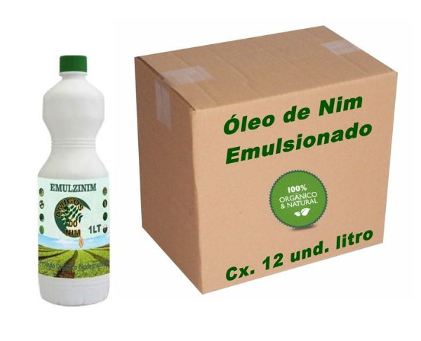 Óleo De Neem Emulsionado Emulzinim 12 itros