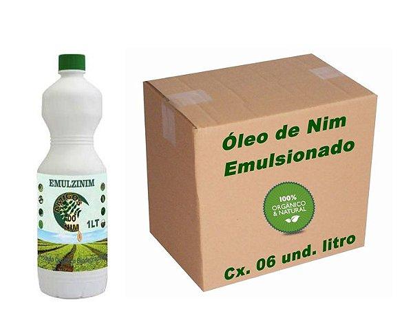 Óleo De Neem Emulsionado Emulzinim 6 Litros