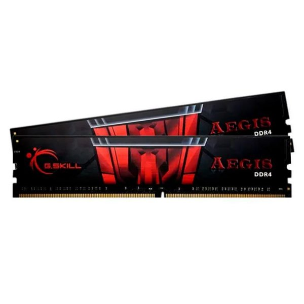 MEMORIA G.SKILL AEGIS 16GB (2X8) DDR4 3000MHZ PRETA - F4-3000C16D-16GISB