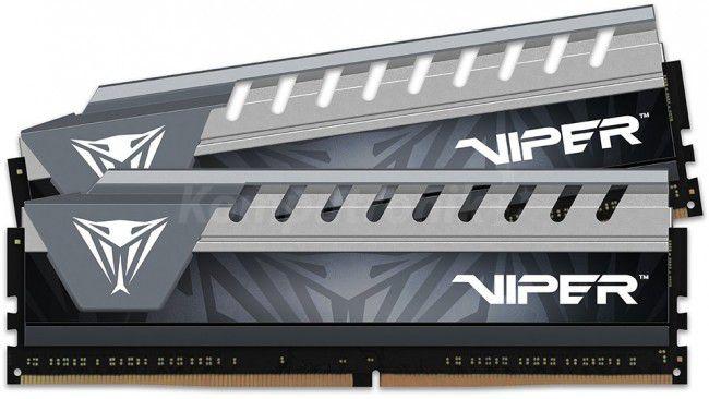 MEMÓRIA RAM DESKTOP DDR4 PATRIOT VIPER 2x16GB 2666MHz - CINZA - PVE432G266C6KGY