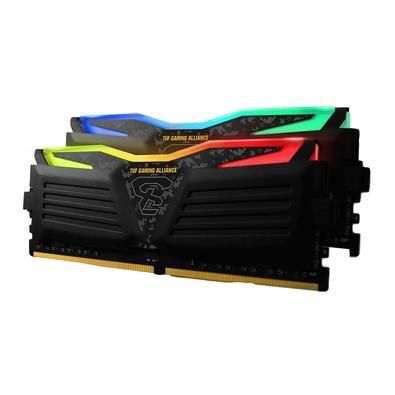 Memória DDR4 Geil Super Luce RGB TUF Gaming Alliance, 16GB (2x8GB), 3000MHz, GLTS416GB3000C16ADC
