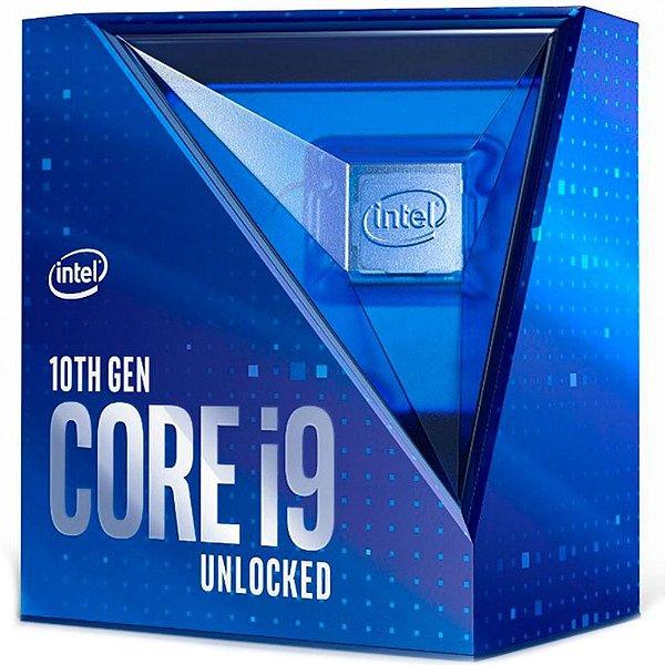 Processador Intel Core i9-10900K, Cache 20MB, 3.7GHz (5.3GHz Max Turbo), LGA 1200 - BX8070110900K