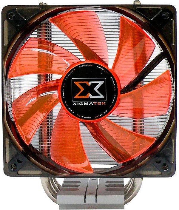 Cooler Xigmatek Red Scorpion II (AMD/Intel) - EN6688 - NÃO SERVE EM AM4