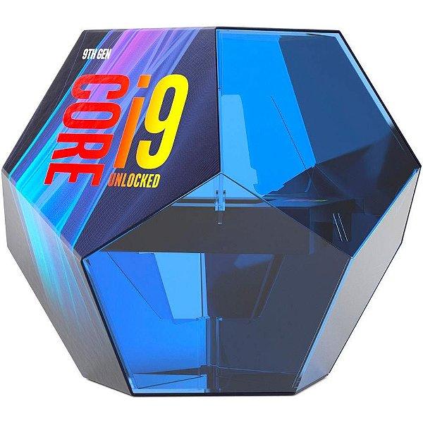 Processador Intel Core i9-9900k Coffee Lake Refresh 9a Geração, Cache 16MB, 3.6GHz (5.0GHz Max Turbo), LGA 1151 - BX8068