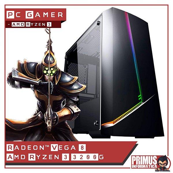 PC GAMER AMD RYZEN 3 3200G 8GB DDR4 500W SSD 240GB