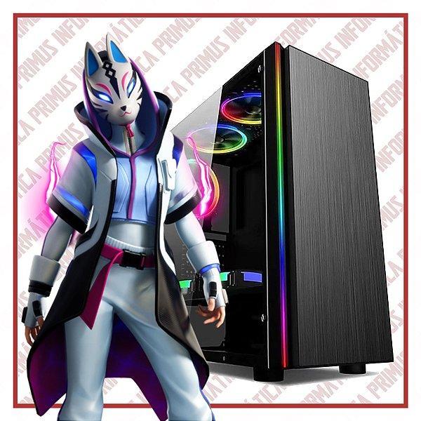 Computador Gamer Intel Core I3 9100f, 8gb DDR4, SSD 240gb, Fonte 500w, Geforce GTX 1650 4gb