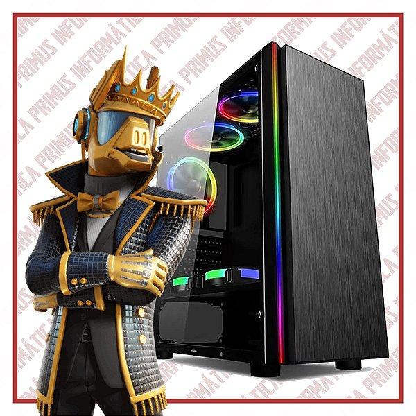 Computador Gamer Intel Core I3 9100f, 8gb DDR4, SSD 240gb, Fonte 500w, Geforce GTX 1660 6gb