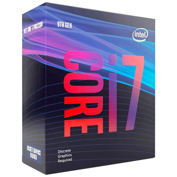 Processador Intel Core i7-9700KF Coffee Lake Refresh, Cache 12MB, 3.6GHz (4.9GHz Max Turbo), LGA 1151, Sem Vídeo - BX80684I79700KF