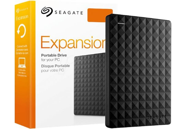 HD Seagate Externo Portátil Expansion USB 3.0