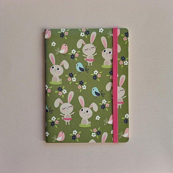 Caderno Coelhinhos