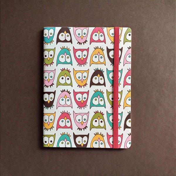 Caderno Corujas