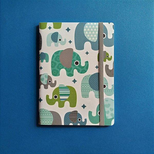 Caderno Elefantes