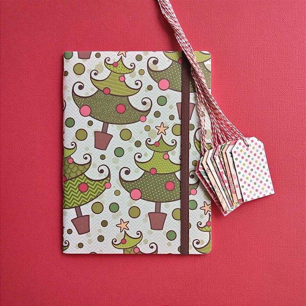 Combo Árvore (caderno + tags)