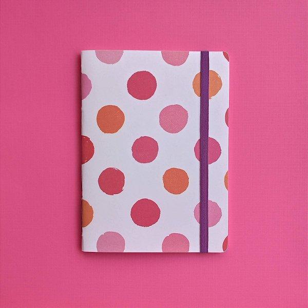 Caderno Chiclete Roxo