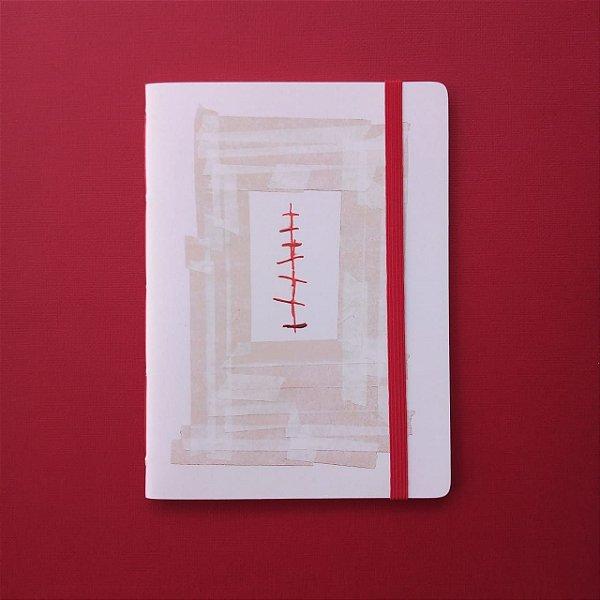 "Caderno ""Cicatriz"""