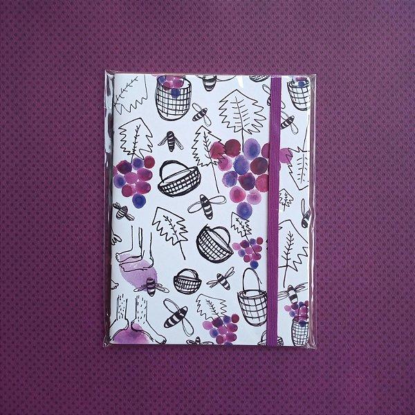 Caderno Vinho Branco
