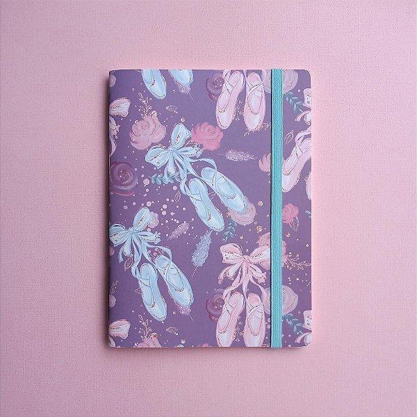 Caderno Sapatilhas Azul e Rosa