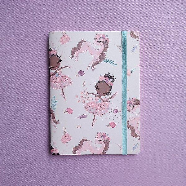 Caderno Tutu Rosa