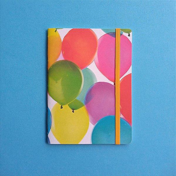 Caderno Balões