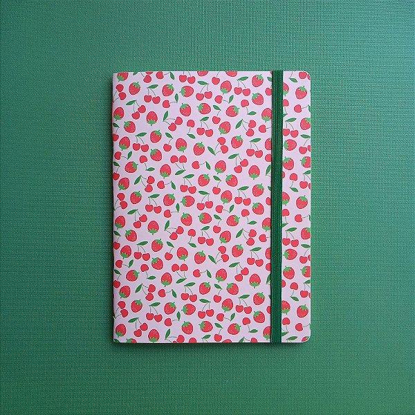 Caderno Morangos e Cerejas