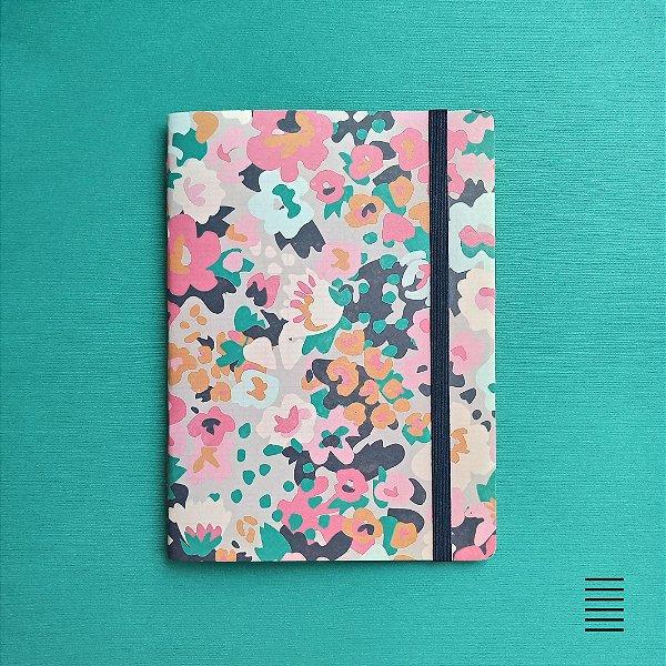 Caderno Floral