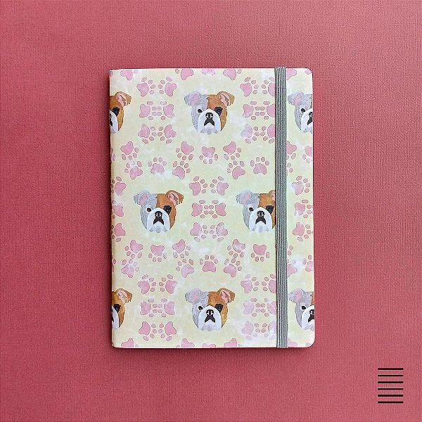 Caderno Bulldog Face