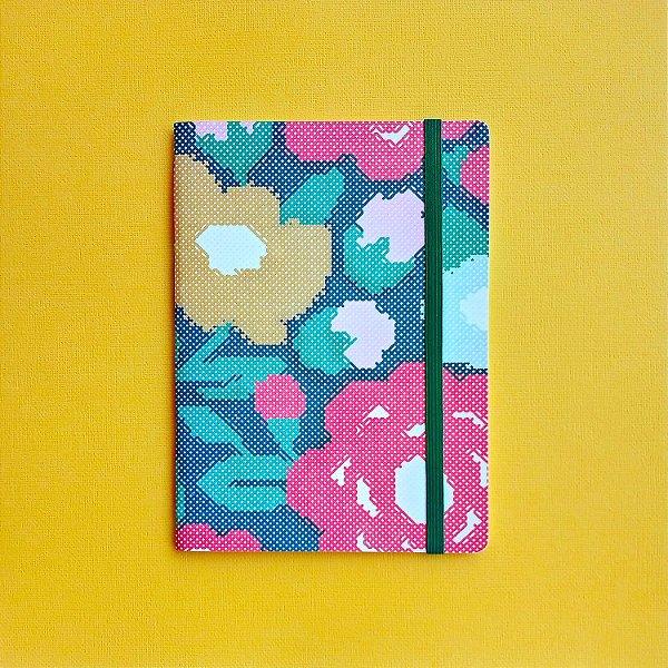 Caderno Ponto de Flor